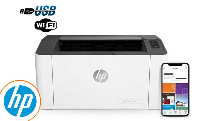 Impresora Monocromatica HP Laser Jet M107W Wifi Usb ¡Incluye Delivery!