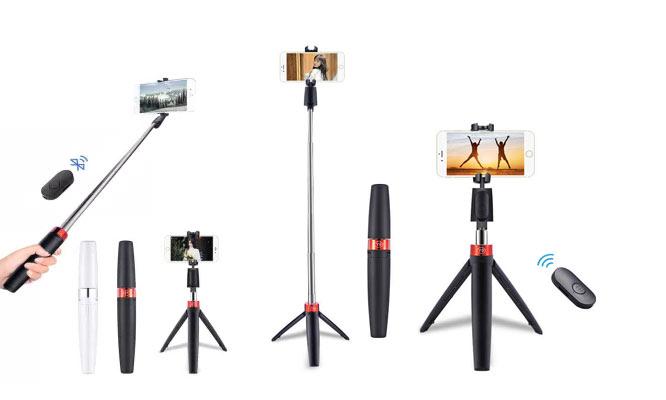 Selfie stick - tripode portatil de cartera¡Incluye delivery!