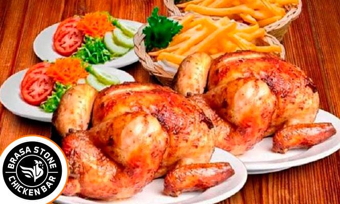 02 Pollos a la brasa papas amarillas fritas artesanales ensalada y mas