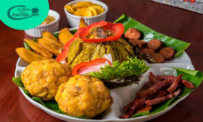 buffet amazonico - criollo La Choza de la Anaconda