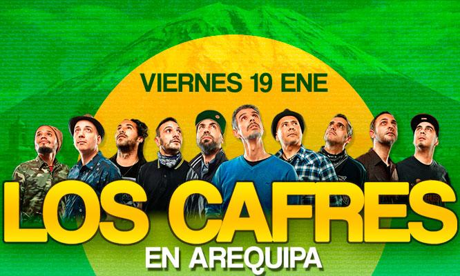 Entrada Preferencial Super Vip o Platinum para concierto de Los Cafres