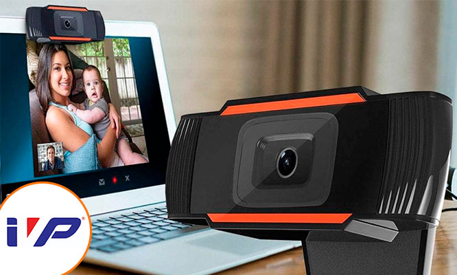 Camara Web Full Hd 1080p Webcam Con Microfono Usb Pc Laptop con IVP
