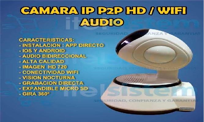 Camara IP HD WiFi Robotica ¡La seguridad de tu hogar cambiara para siempre!