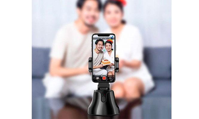 Smart Selfie Rastreador Giratorio 360°¡Incluye Delivery!