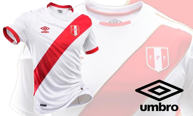 Camiseta de la Seleccion de Peru 2018 Umbro delivery