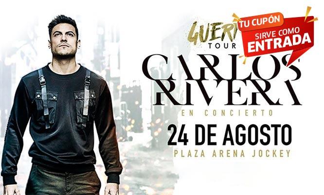 Entrada al concierto de Carlos Rivera - ¡Por primera vez en Lima con Guerra Tour!