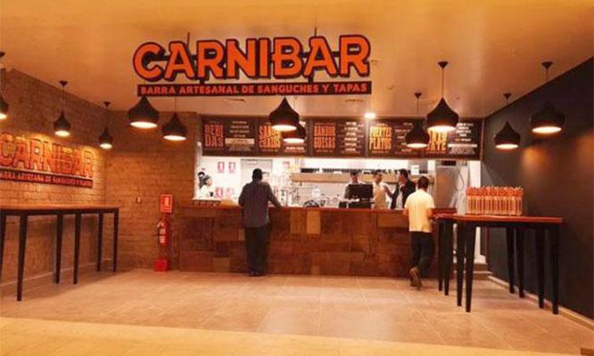 1 Plato Bebida en Carnibar del Jockey Plaza