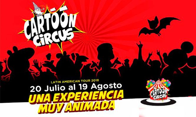 Entrada preferencial VIP o Platinium para Cartoon Circus
