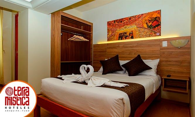 Arequipa 2D/1N 3D/2N 4D/3N o 5D/4N en Hotel Terra Mistica Casa Consuelo