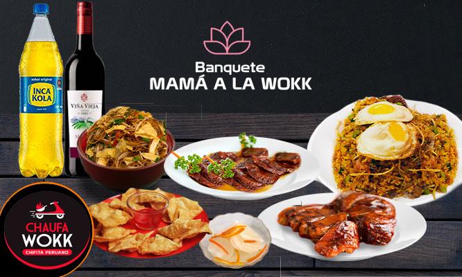 Banquete Familiar Mama a la Wokk