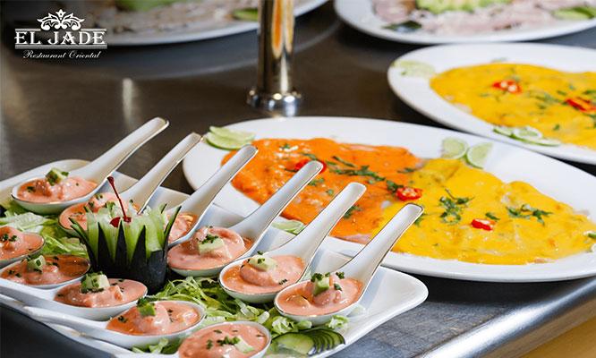 Buffet en El Jade Restaurante Oriental