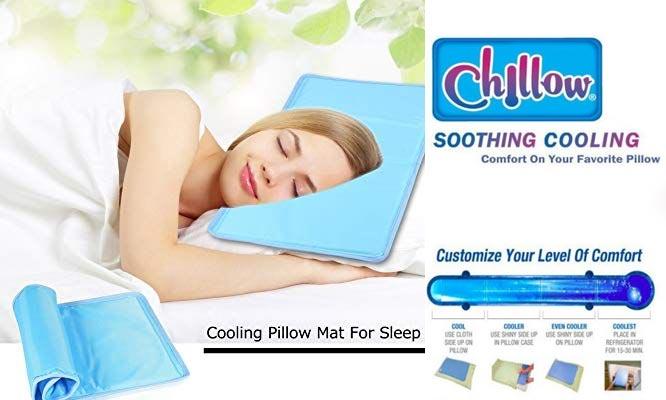 Almohada Chillow Termica Fria Cojin de alivio dolores relajacion con gel refrescante