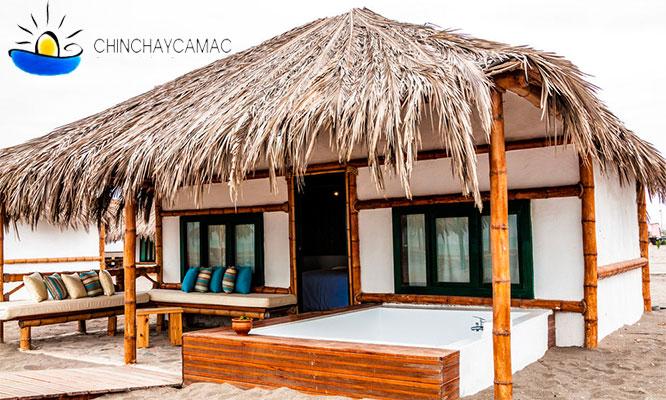 Chincha 2D/1N o 3D/2N en bungalows matrimonial chilcanos y mas