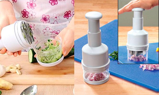 Picador/cortador de cebollas ajos y vegetales