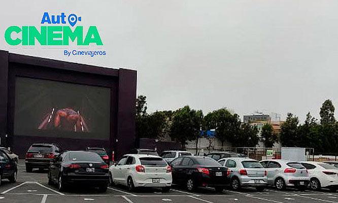 2 Entradas con opcion a combo en Autocinema Cineviajeros Open Plaza