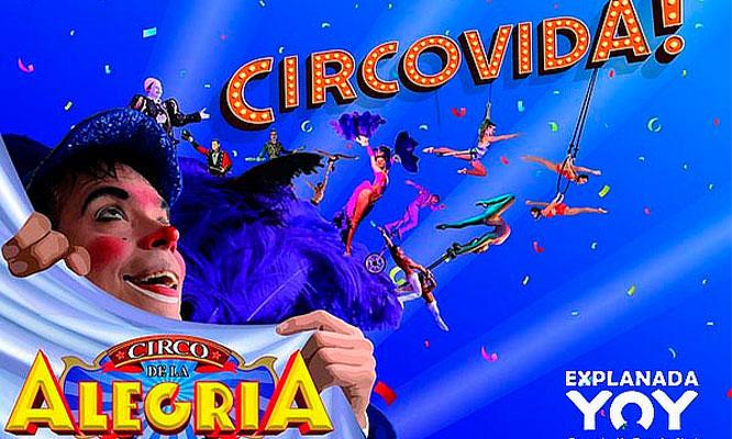 Entradas de niño o adulto para Circo de la Alegria de Pitillo Jockey
