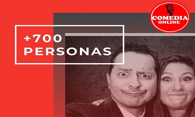 Alquila un comediante para celebrar tu evento ONline