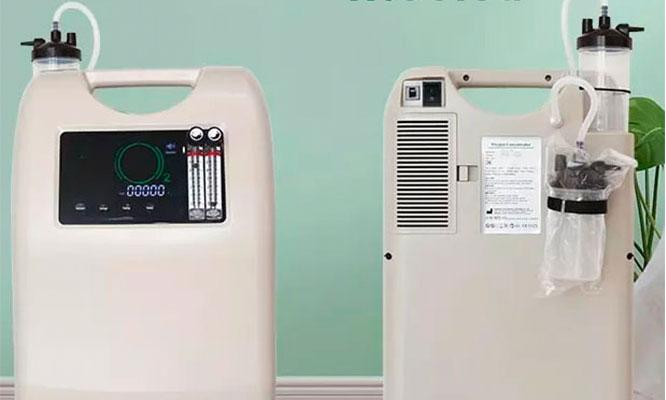 Concentrador oxigeno de 10L OLIVE con doble flujo ENTREGA INMEDIATA