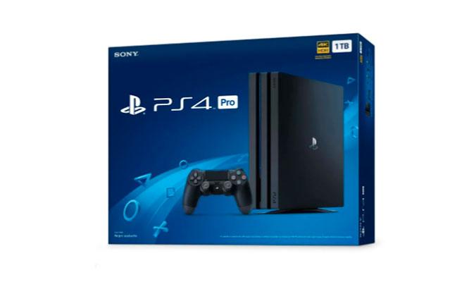 Consola PlayStation 4 PRO 1TB - Negro Delivery incluido