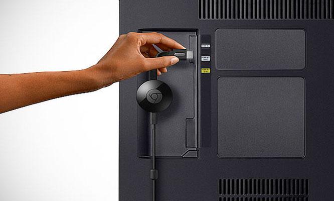 Convertidor de televisor a Smart Google Chromecast 2da Generacion HDMI