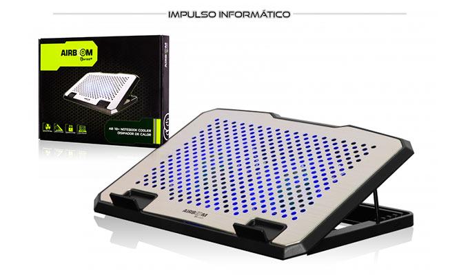 Notebook cooler Boreal AB-18 con 2 puertos SB delivery