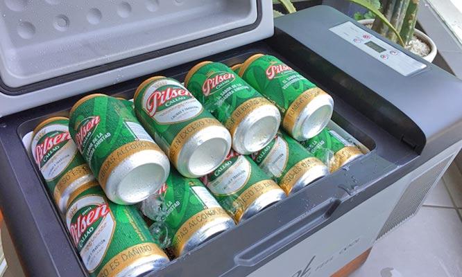 Cooler Congelador Portatil con Capacidad Interna de 20 litros para Autos y Camionetas -