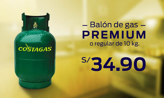 Balon de gas premium o regular de 10 kg Incluye delivery