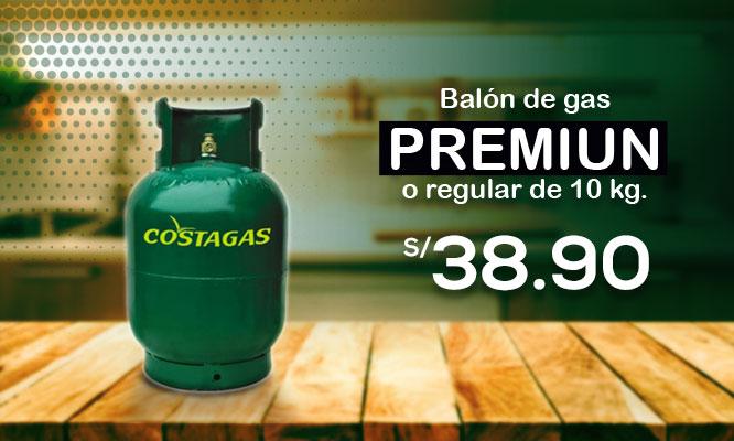 Balon de gas premium o regular de 10 kg Incluye delivery