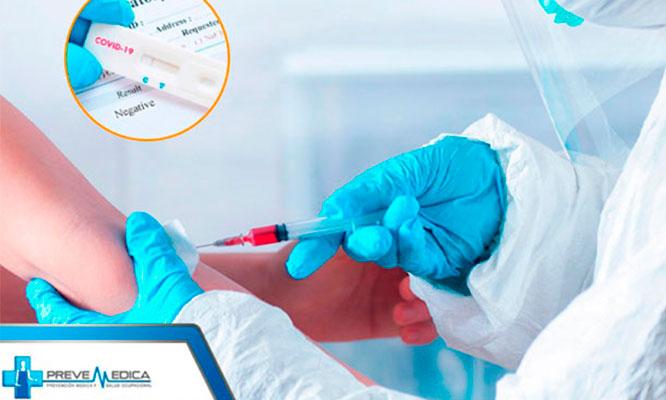 Prueba rapida Dosaje anticuerpos Consulta medica en Prevemedica