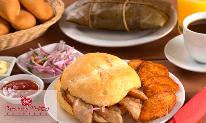 Delivery Desayuno Energetico Criollo o Dulce amanecer