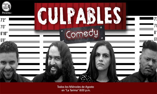 """2x1 en entradas para el Stand Up comedy """"Culpables"""""""