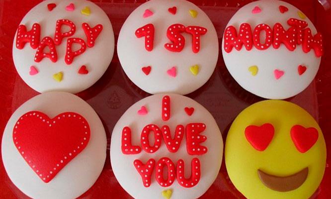Mejor regalo 4 o 6 Cupcakes personalizados