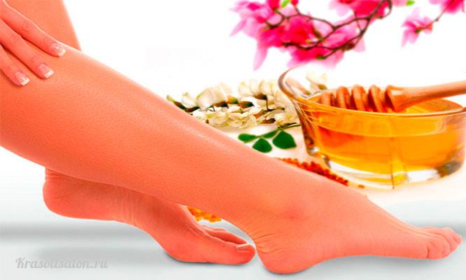 Depilacion con cera de miel en media pierna linea de bikini o brasilera y mas