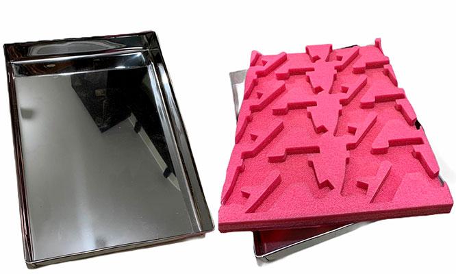 Bandeja desinfectante de aluminio para Calzado lejia poet Delivery incluido