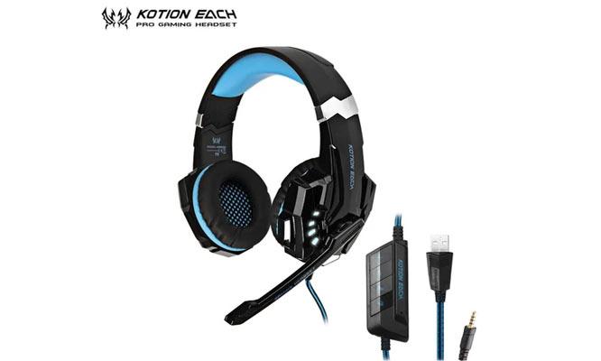 Audifono para PC Kotion Each G9000 Sonido Estereo