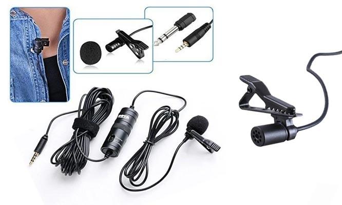 Microfono Solapero BOYA BY-M1 Para camaras Smartphones grabadores  PC