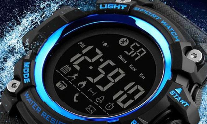 SmartWatch SKMEI 1227 acuatico antigolpes podometro contometro de calorias y mas