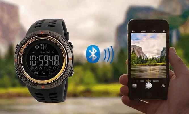 SmartWatch SKMEI gold 1250 acuatico antigolpes podometro contometro de caloriasy mas