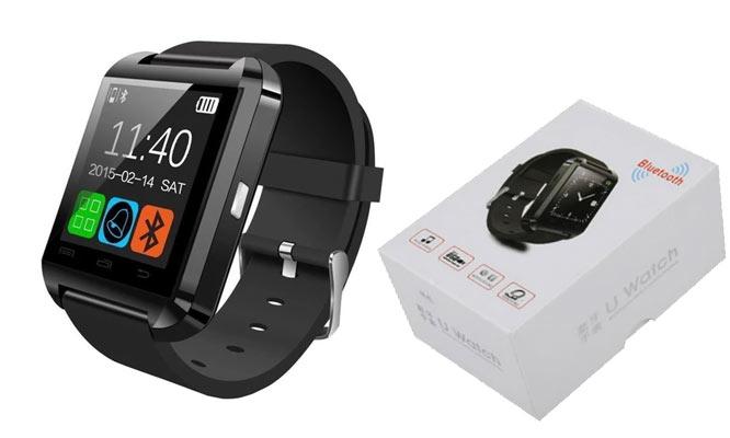 SmartWatch U8 con Bluetooth tactil redes Whatsapp Facebook y mas
