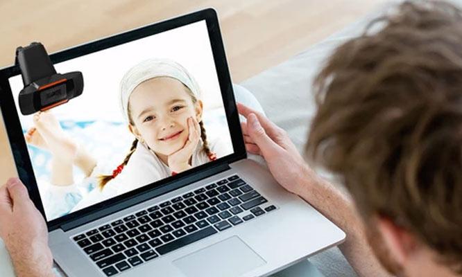 Camara Web- Webcam HD 1280x720 con microfono integrado ¡Incluye delivery!