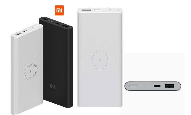 Bateria portatil Xiaomi 10000 mah Mi Wireless Power Bank Lite Blanco WPB15ZM