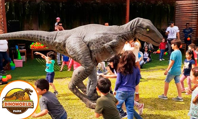 Full day en DinoWorld all you can eat de pollo a la brasa y mas segun elijas