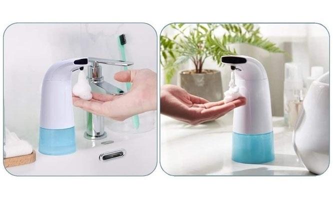 Dispensador con sensor automatico de jabon liquido ¡Incluye deliveri!