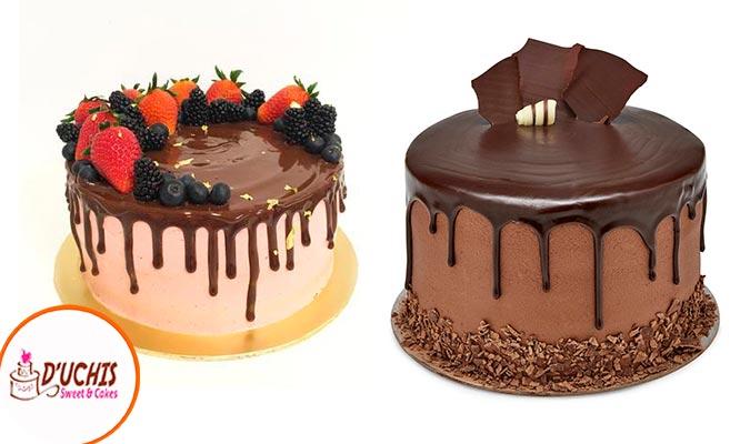 Drip Cake para 20 personas color a elegir