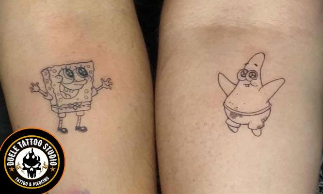 2x1 en Tatuajes de 5cm x 5cm para uno o dos personas diseños variados