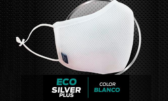 ECO SILVER PLUS original BLANCAS con tejido de plata Lavable ¡Incluye delivery!