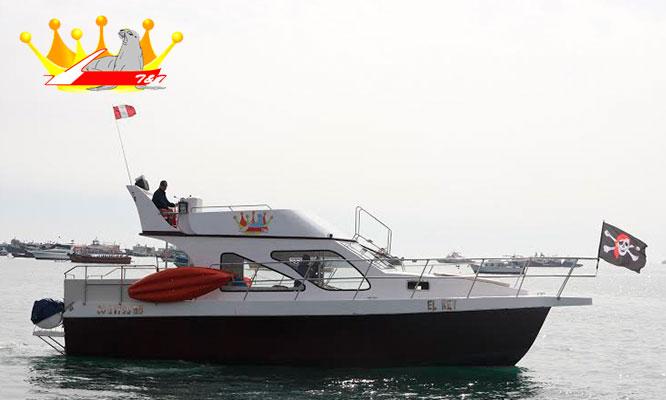 Callao-La Punta Full day en Yate piratas en la bahia tour historico Callao