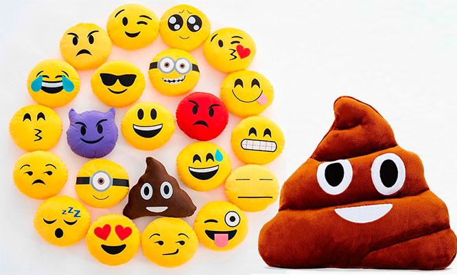 Almohada de Emoticons ¡Elige el modelo!