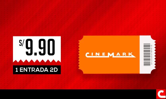 Cinemark 1 entrada 2D - Cuponidadpe
