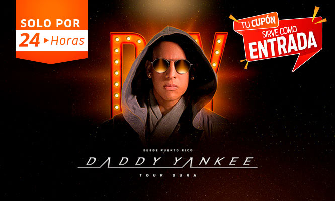 Daddy Yankee Entradas al Concierto Tour Dura Jockey Club